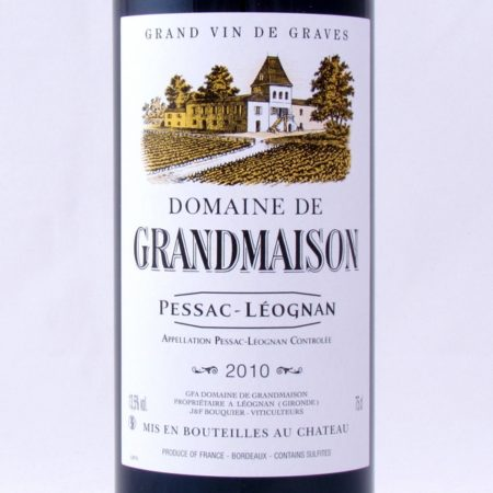 pessac-léognan 2010