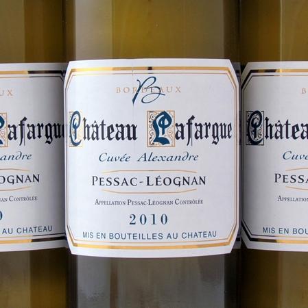 Pessac-Léognan Chateau Lafargue 2010