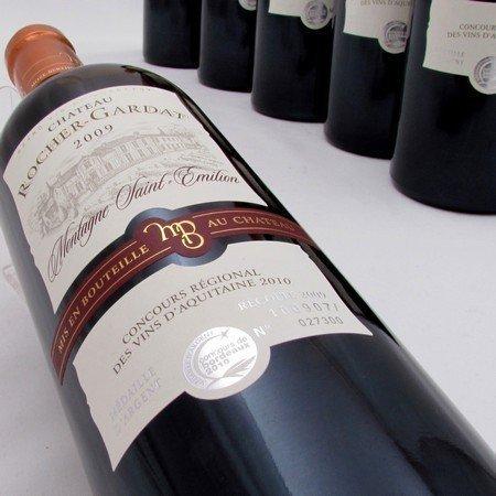 Montagne Saint Emilion wijnen - Rocher Gardat 2009