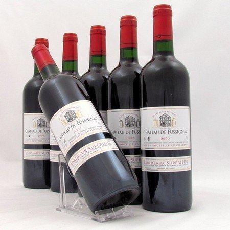 Bordeaux Supérieur wijnen - Chateau de Fussignac 2009