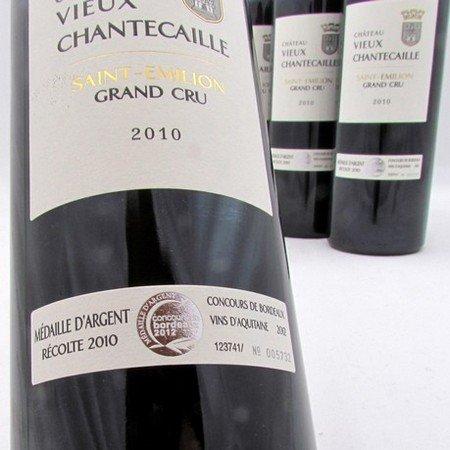 saint emilion grand cru wijnen - Chateau Vieux Chantecaille 2010