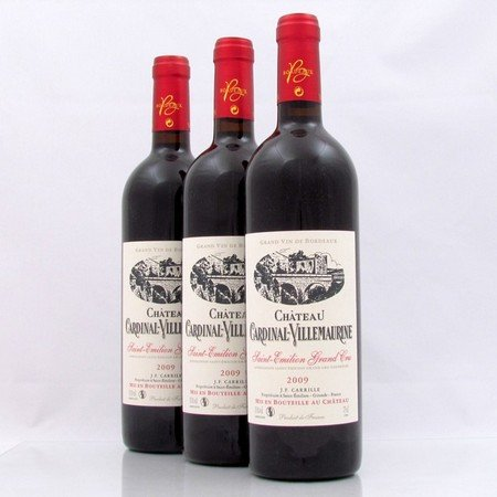 saint emilion grand cru wijnen - Chateau Cardinal Villemaurine 2009