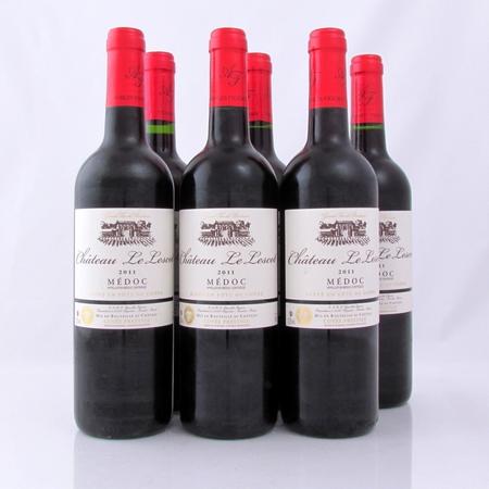 Medoc Le Lescot 2011 cuvée prestige 6 flessen