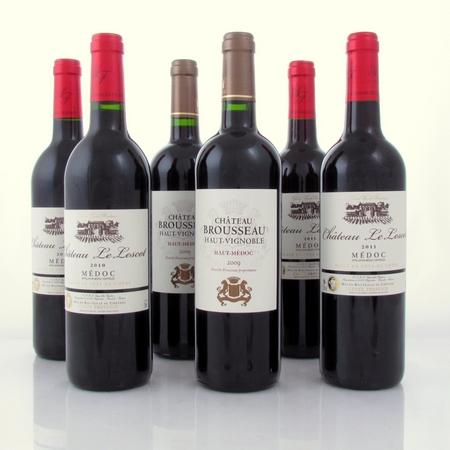 proefdoos goede wijnjaren Medoc