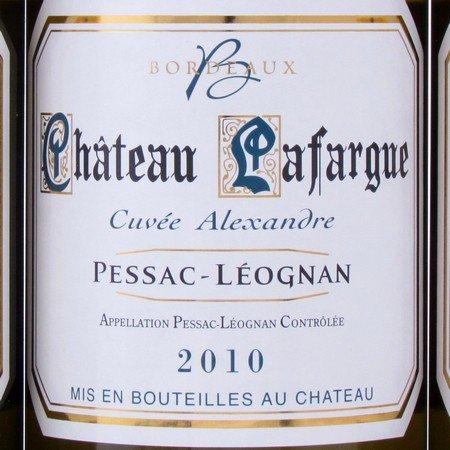 Pessac-Leognan 2010 Lafargue wit