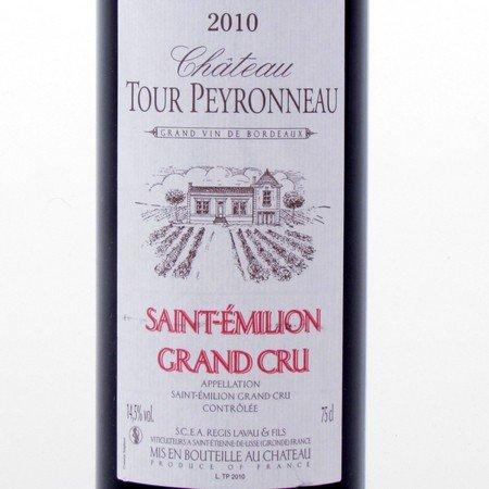 Saint-Emilion Grand Cru 2010 Tour Peyronneau