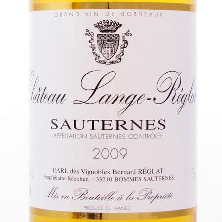 Sauternes 2009 Lange-Reglat
