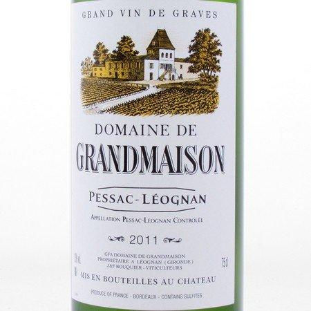 Pessac-Léognan 2011 Domaine de Grandmaison