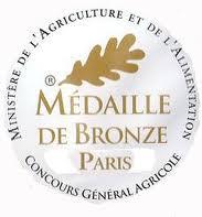 medaille de bronze paris