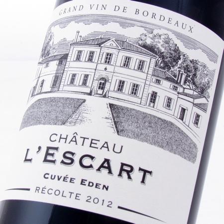 Bordeaux Supérieur 2012 l'Escart cuvée Eden