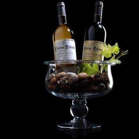 Pessac-Leognan chateau Lafargue rode wijn en witte wijn