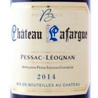 Pessac-Léognan 2014 Lafargue rood